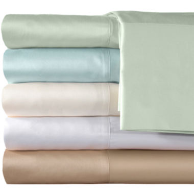 jcpenney.com | American Heritage 300tc  Cotton Sateen Solid Sheet Set