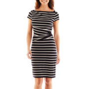 American Living Striped Sheath Dress