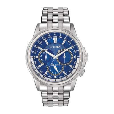 mens watches casual watches for men on jcpenney citizen® eco drive® mens stainless steel watch bu2021 51l