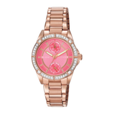 jcpenney.com | Citizen® Eco-Drive® Womens Crystal-Accent Bracelet Watch FD3003-58X