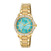 Citizen® Eco-Drive® Womens Crystal-Accent Bracelet Watch FD3002-51X