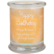 WoodWick® Inspiration Happy Birthday Candle