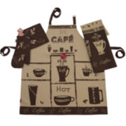 Rue Montmarte Café Moka Kitchen Linen Accessory Set