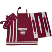 Rue Montmarte Le Rouleau a Patisserie Rouge Kitchen Linen Accessory Set