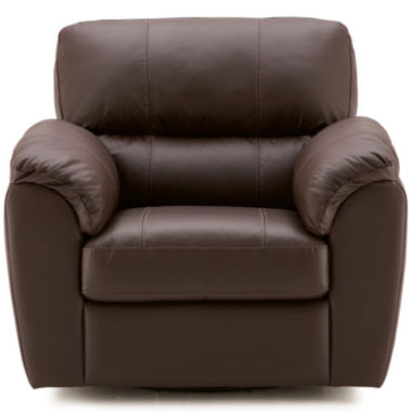 jcpenney.com | Leather Possibilities Pad-Arm Swivel Chair