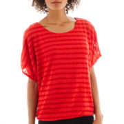 Alyx® Short-Sleeve Textured Top