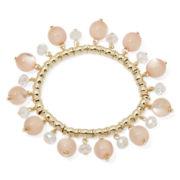 Mixit™ Pink Cat's Eye Charm Bracelet