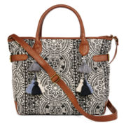 T-Shirt and Jeans™ Shades Of Cool Printed Totes Handbags