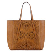 T-Shirt and Jeans™ Easy Street 2.0 Perforated Tote Handbag
