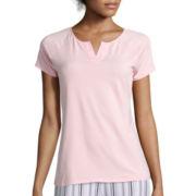 Liz Claiborne® Raglan-Sleeve T-Shirt