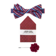 Van Heusen® 3-pc. Multi Gingham Bow Tie Set