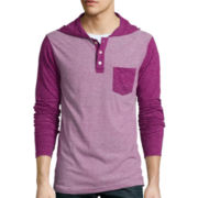 Arizona Hooded Henley Shirt