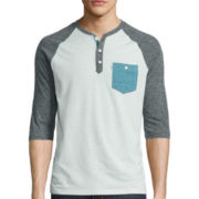 Levi's® Long-Sleeve Raglan Tee