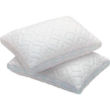 jcpenney.com | Sharper Image® Standard Memory Foam 2-Pack Pillow Protectors