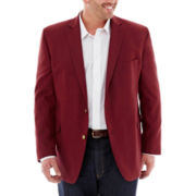Stafford® Hopsack Sport Coat–Big & Tall