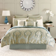 Croscill Classics® Peyton 4-pc. Jacquard Comforter Set & Accessories