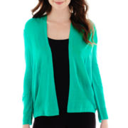 Worthington® 3/4-Sleeve Flyaway Cardigan Sweater - Tall
