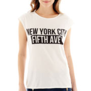MNG by Mango® Sleeveless New York Graphic Tee