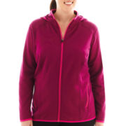 Xersion™ Technical Micro Fleece Seamed Hoodie - Plus
