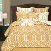 Grid Iron 8-pc. Reversible Comforter Set