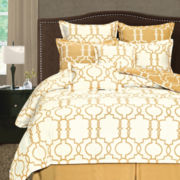 Grid Iron 8-pc. Reversible Comforter Set