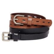 Mixit™ 2-pk. Skinny Belts