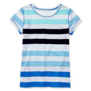 Arizona Striped Favorite Tee - Girls 7-16 and Plus