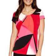 Worthington® Essential Short-Sleeve T-Shirt - Petite