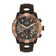 Citizen® Eco-Drive™ Primo Stingray Mens Ion-Plated Chronograph Watch CA4088-00E