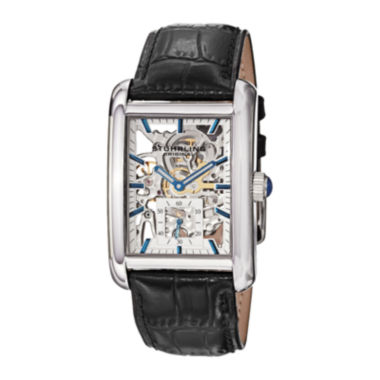 jcpenney.com | Stührling® Original Mens Rectanglular Automatic Skeleton Watch