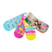 4pk One Direction Low Cut Socks