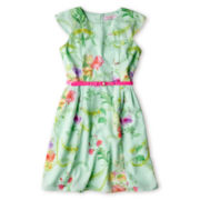Baker by Ted Baker Belted Floral Dress - Girls 6-14
