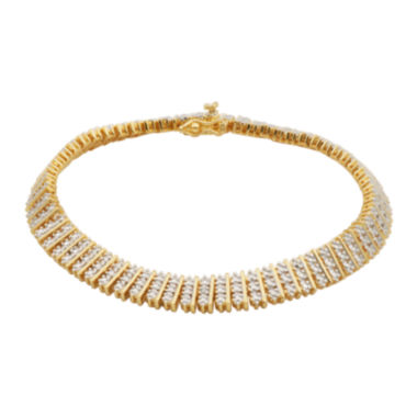 jcpenney.com | Diamond-Accent Multi-Row Tennis Bracelet