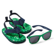 Carter's® Anchor Sandals and Sunglasses Set
