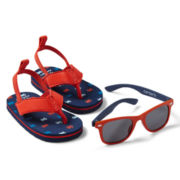 Carter's® Crab Sandals and Sunglasses Set