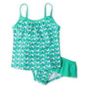 Carter's® Whale 2-pc. Swimsuit - Girls 3m-4t