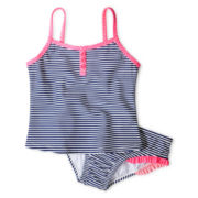 Carter's® Navy Striped 2-pc. Swimsuit - Girls 3m-4t