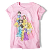 Disney Princesses Pink Graphic Tee - Girls 2-12