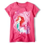 Disney Ariel Graphic Tee - Girls 2-10