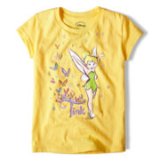 Disney Tinker Bell Graphic Tee - Girls 2-10