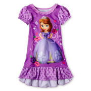 Disney Sofia Nightgown - Girls 2-10