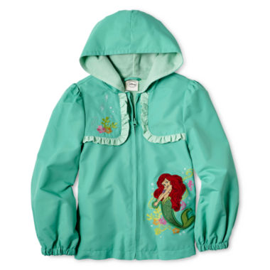 jcpenney.com | Disney Collection Ariel Jacket - Girls 2-10