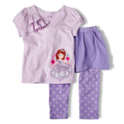 Disney Sofia Skirt Set - Girls 2-10
