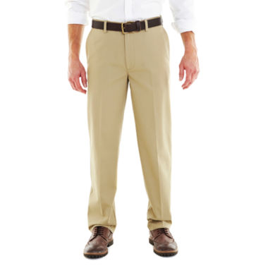 jcpenney.com | St. John's Bay® Worry Free Comfort-Ease Relaxed-Fit Flat-Front Pants
