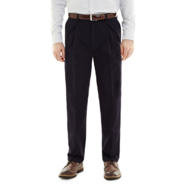 jcpenney.com | St. John's Bay® Worry Free Comfort-Ease Relaxed-Fit Pleated Pants