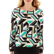 Worthington® Long-Sleeve Keyhole Top - Tall