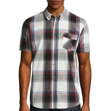 jcpenney.com | Levi's® Remy Short Sleeve Button Up Shirt
