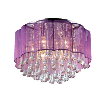 jcpenney.com | Warehouse Of Tiffany Erida 6-Light Chrome CeilingLamp