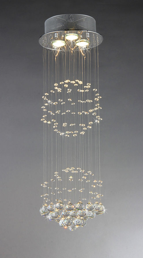 Warehouse Of Tiffany Crystal Shower Chandelier