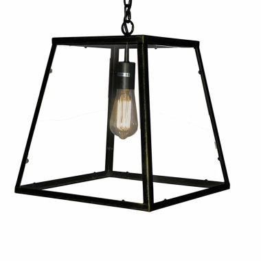 jcpenney.com | Warehouse Of Tiffany Minerva 1-light Black EdisonLamp with Bulb